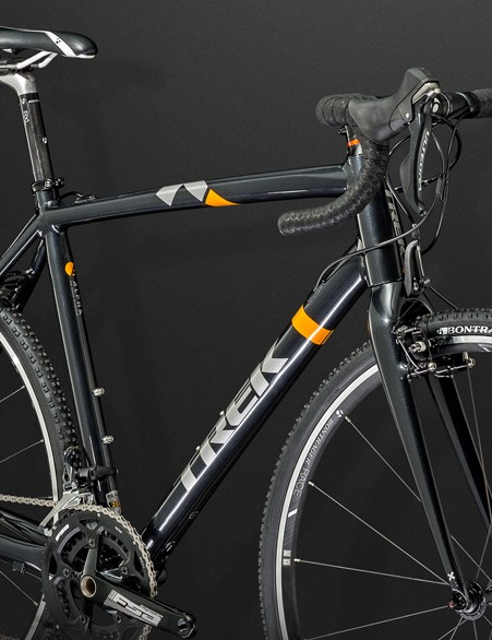 The new Trek Crockett 9 features new-school geometry and a Shimano Ultegra 11-speed transmission