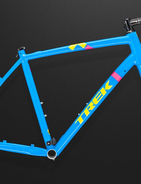Trek will offer the Crockett as a frameset, too, in both rim brake and disc brake varieties. Pricing is very reasonable, and even the headset and stem are included