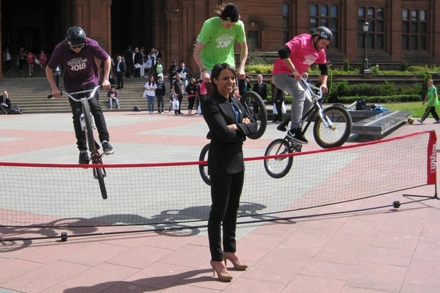 Olympic legend Kelly Holmes will lead out Sustrans' Pedal On UK tour tomorrow