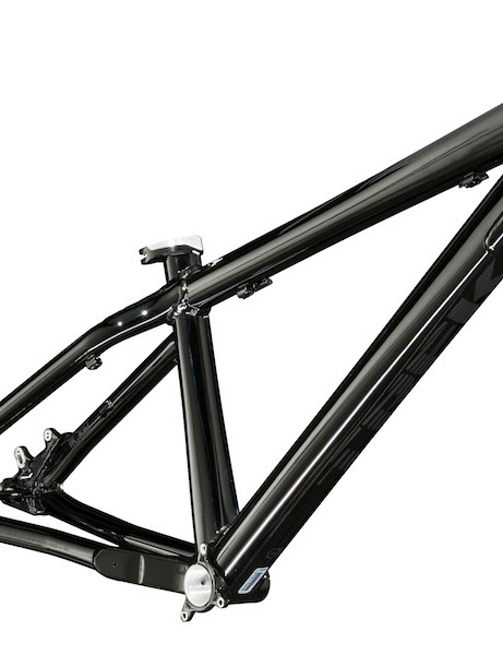 Trek's Ticket dirt jump bike is back in the line for 2014, as a frame-only option