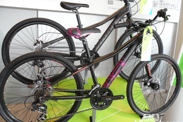 The Cannondale Street is a 24in-wheeled kids' bike that comes in both girls' and boys' versions