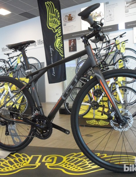 The new GT Tachyon 1.0 urban/commuting bike is good looking and well priced at £749.99