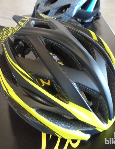 The good-looking GT Corsa road helmet is priced at a very reasonable £30