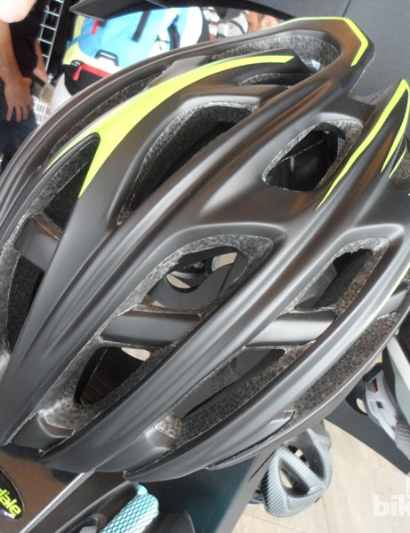 Cannondale's lightweight Cypher road helmet weighs in at a claimed 215g for a medium