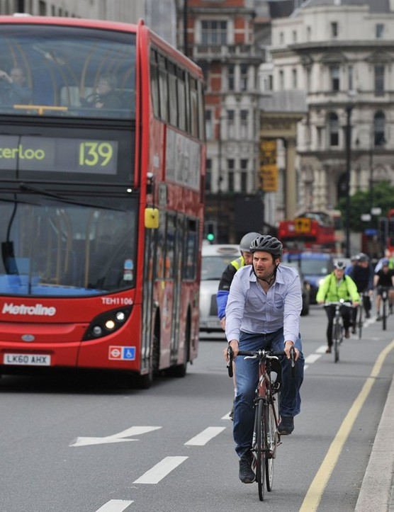 Cyclists riding in busy traffic have a greater exposure to toxic particulate matter that can aggravate respiratory conditions such as asthma