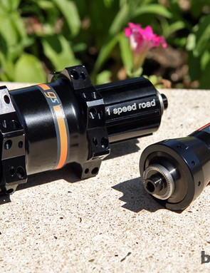 PowerTap's new GS hubset strikes a notably upscale look