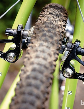 Controlled braking and lots of clearance on the Surly Cross-Check
