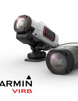 The Garmin VIRB is packaged in robust contour housing