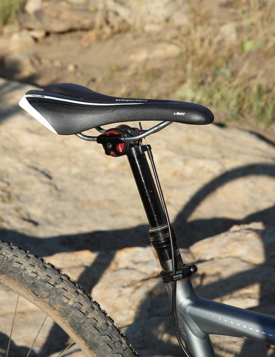 Our testers found the Specialized Rumor's own-brand saddle quite comfortable
