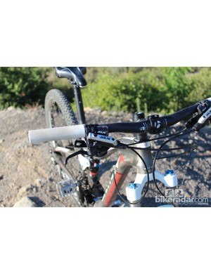 The Trek Lush SL has Shimano SLX hydraulic brakes