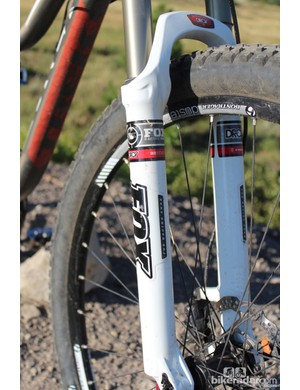 The Trek Lush SL has a Fox Evolution Series 32 Float with Climb/Trail/Descend switch and 120mm of travel