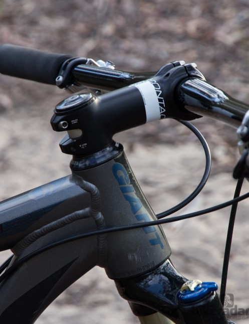 An example of where the Ritchey Pro 2X bar is a perfect addition - no spacers, stem flipped and a lower bar
