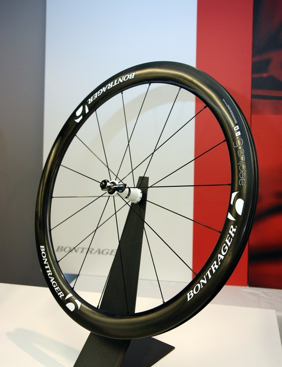 The new Trek Race Shop Limited program will include a special Bontrager Aeolus 5 D3 carbon tubular wheelset currently used by team riders in the cobbled Classics