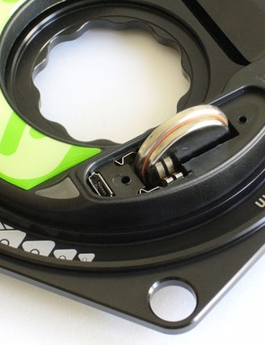 The batteries in the Power2Max Type-S power meter are user replaceable