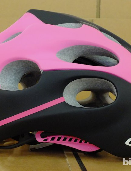 The Catlike Mixino's matte black-and-pink colour scheme will no doubt divide opinion