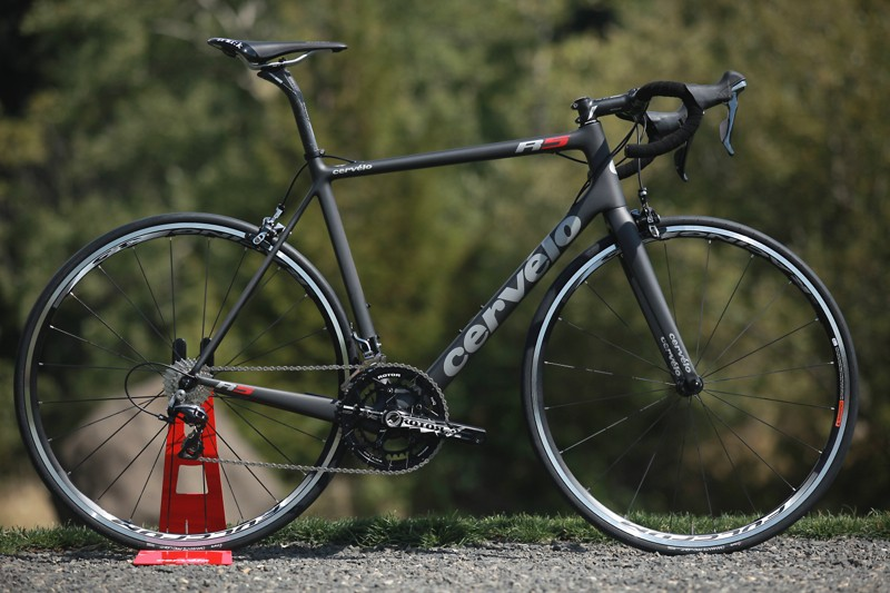 The Cervélo R5 comes as a frame and three complete builds