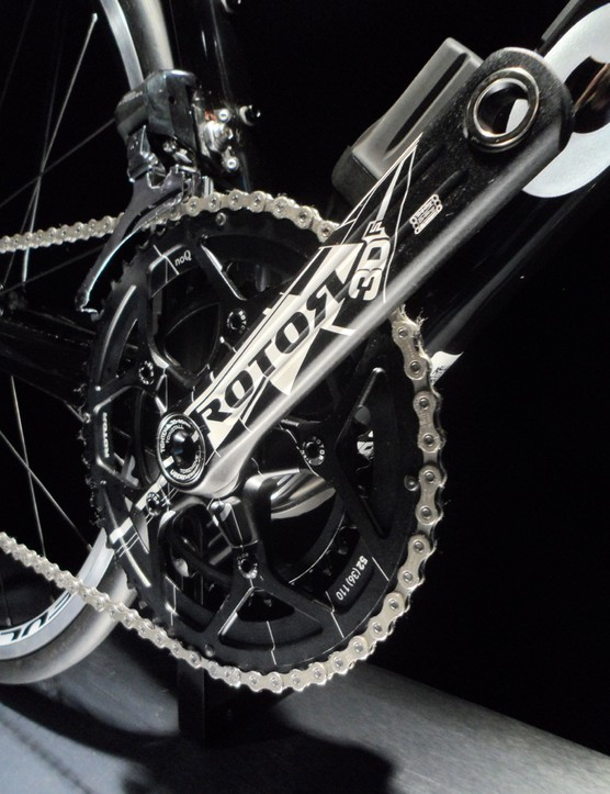 Regardless of group choice, Cervélo specs the bikes with Rotor cranks, usually in the 52/36 mid-compact style