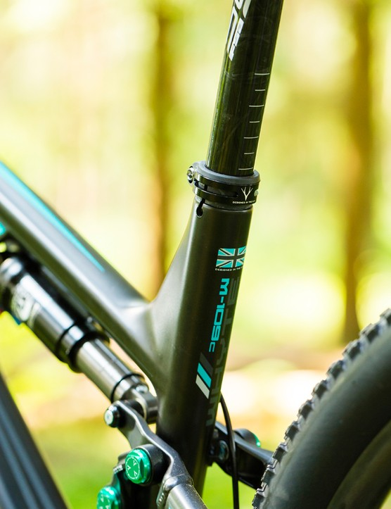 As ever from Whyte, all the pivot bearings on the M-109 C feature a lifetime warranty