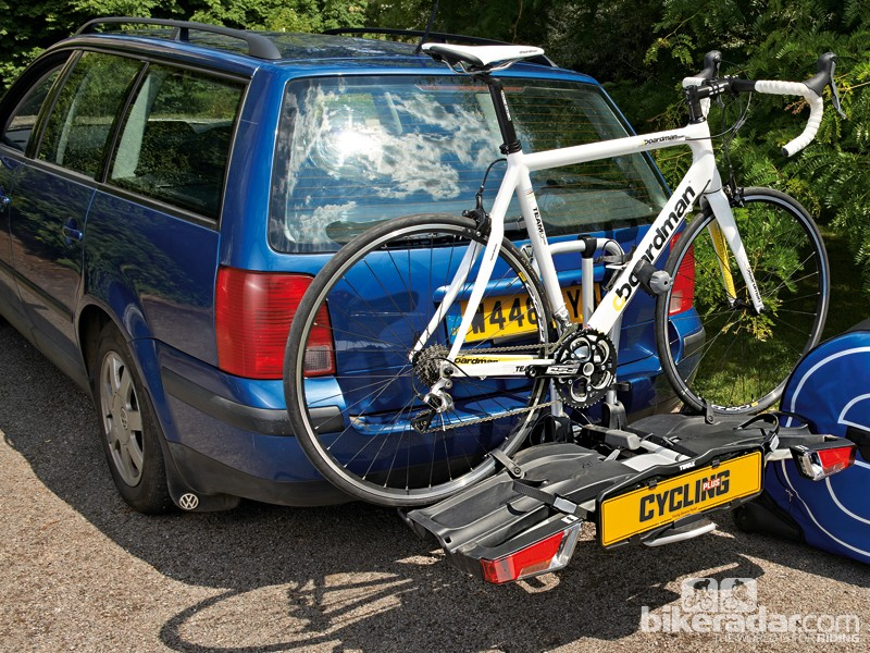 Thule EasyFold 932 towbar-mounted bike rack