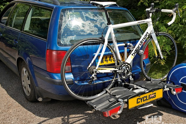Thule EasyFold 932 towbar-mounted bike rack