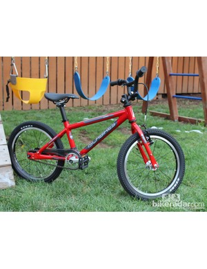 Islabikes only makes kids' bikes, and the total focus shows