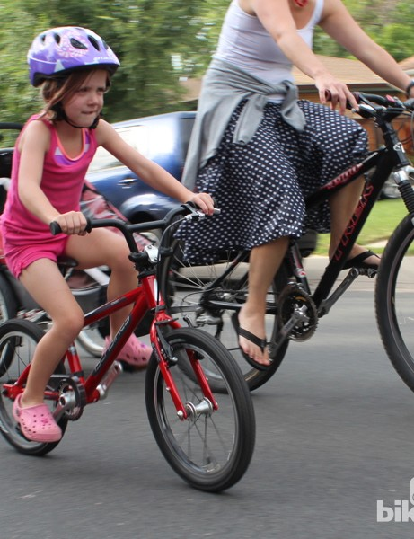 Young or old, riding bikes is more fun on a light, responsive bike that properly fits your body