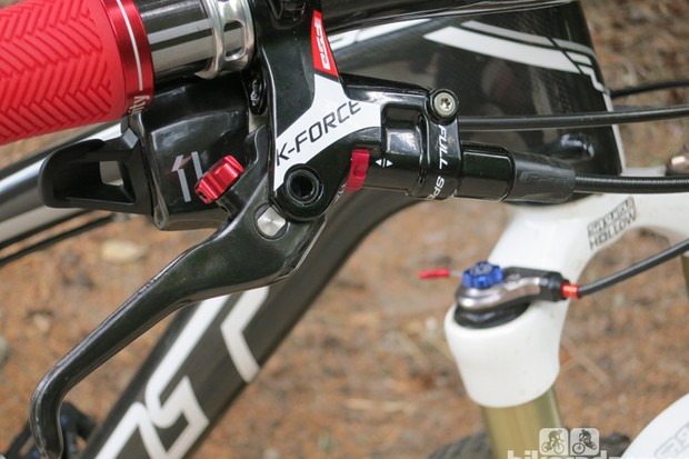The K-Force brake will be FSA's top-end disc model. It's expected to be available in early 2014