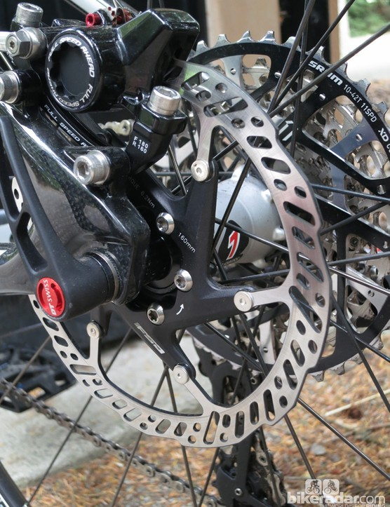 FSA will offer the K-Force disc brake with a two-peice rotor