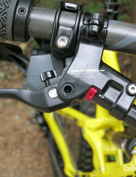 The Afterburner is the more affordable 'trail' brake in FSA's new brake line. It will be available early next year