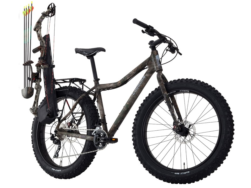 The Cogburn CB4 - a fat bike for hunters and outdoorsmen
