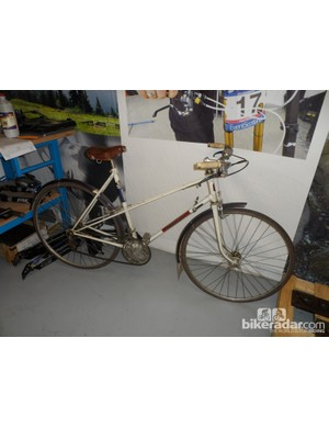 A vintage Lapierre we found in a corner of the test lab