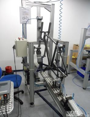 CEN standard frame testing at Lapierre