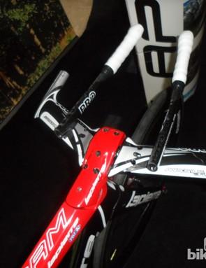 Lapierre's new Aerostorm TT frame debuted at the 2013 Tour de France under FDJ riders