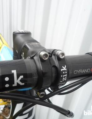 An exclusive Fi'zi:k carbon cockpit on Lapierre's Xelius Ultimate
