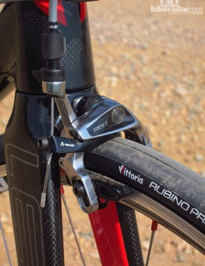 SRAM's latest Red calipers provide excellent stopping power and great lever feel