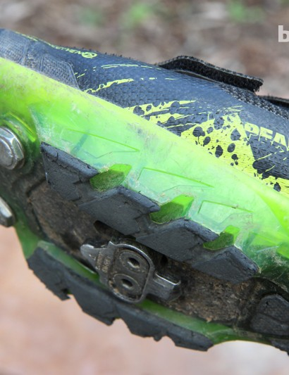 More than six months of regular use on unusually abusive Colorado rocks have certainly worn down the Pearl Izumi X Project 1.0's lugs but, all things considered, they're holding up reasonably well