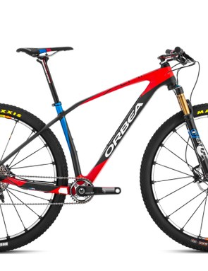 The range-topping Orbea Alma M LTD comes with an electronically operated Fox ICD fork, SRAM's XX1 groupset and Mavic Crossmax SLR TL wheels for US$8,999/£7,499 (650b and 29er models)