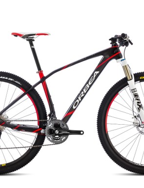 The Orbea Alma range starts with the M50 models, which use lower grade carbon and are priced at US$2,699/£2,299