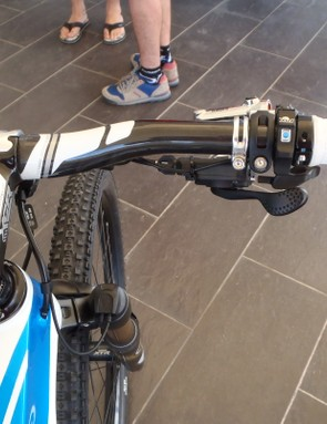The Fox ICD system on the range-topping Orbea Alma M LTD