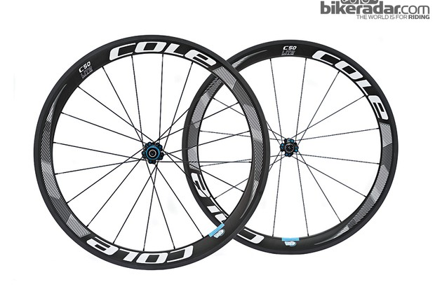 Cole C50 Lite carbon clincher wheelset