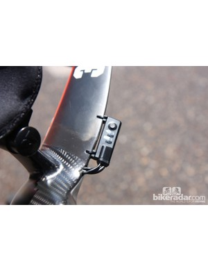 You won't find this Di2 configuration on a stock bike