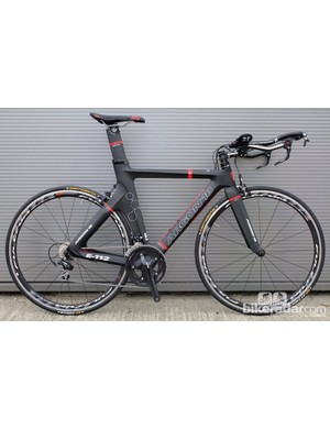 The new complete Argon E-112 triathlon/time trial bike