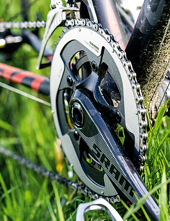 The shifting performance and chainset stiffness of the new SRAM Red is significantly improved over the original group
