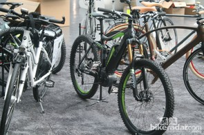 Cube's full-suspension e-bike has been nominated for a Eurobike Award