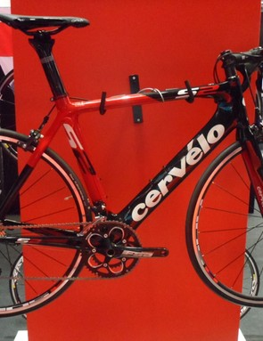 The Cervélo S2 aero road bike, as seen at Eurobike 2013
