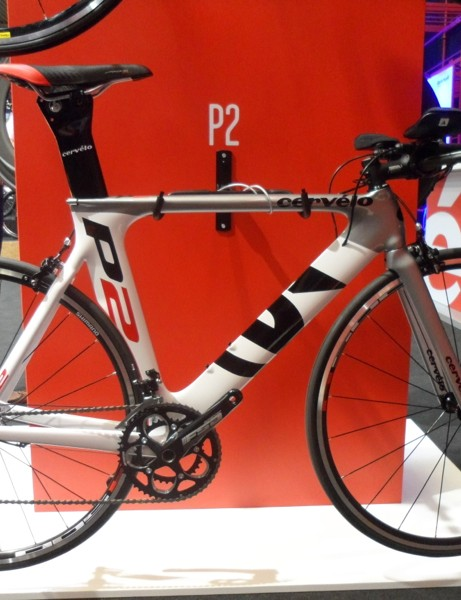The Cervélo P2 starts at £1,999 for a complete bike, with Shimano 105