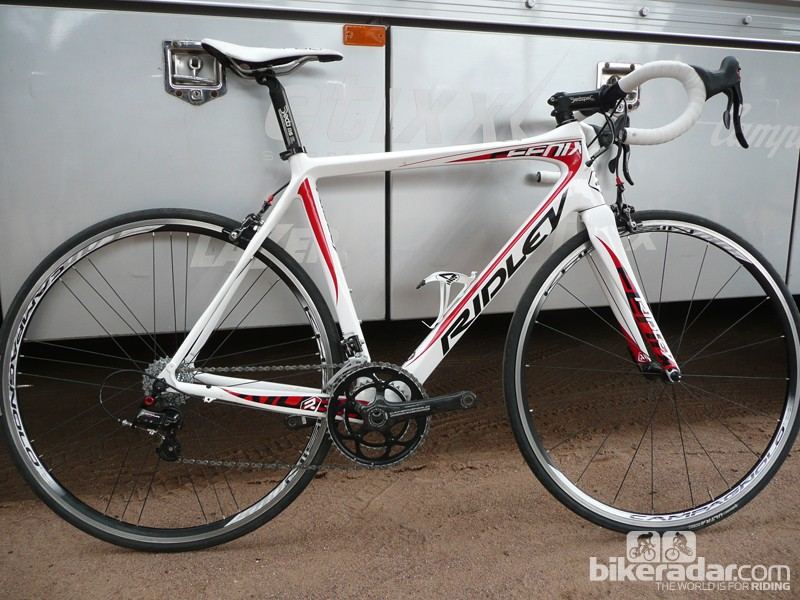 The Ridley Fenix will be equipped with hydraulic disc brake options in 2014