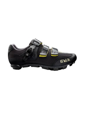 Fi'zi:k's M3 cyclocross shoe features a stiff carbon sole and improved rubber tread
