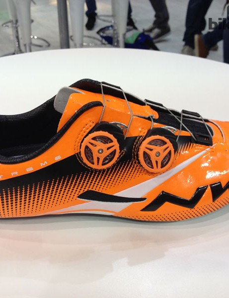 The Northwave Extreme Tech Plus road shoe. It comes in black and white/black, too