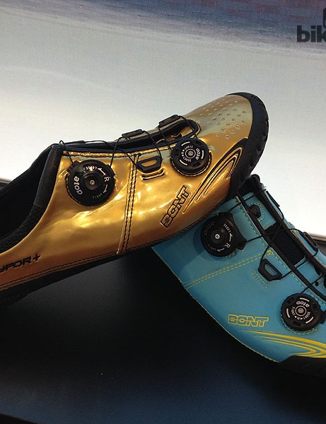 Bont are increasing their colour options for 2014 and will allow customers to go online and personalise their Vaypor and Vaypor Plus shoes – right down to the stitching colour